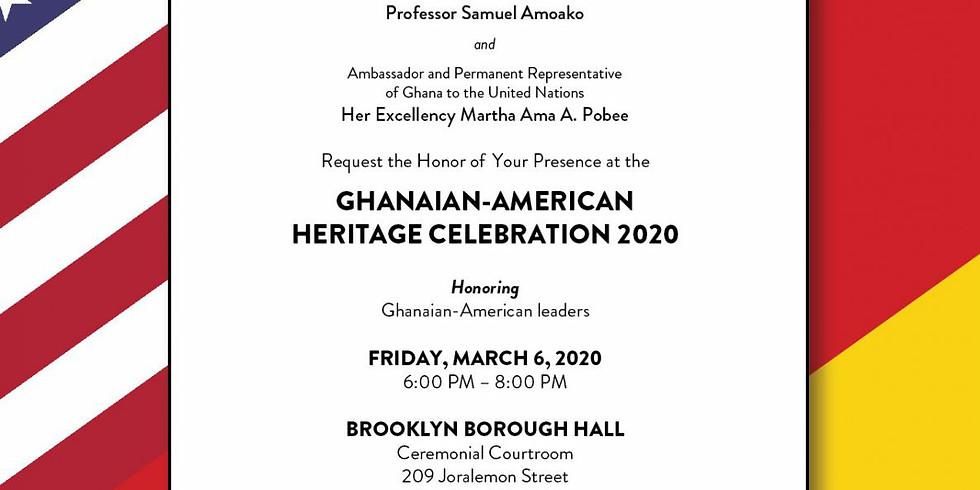 Ghanaian-American Heritage Celebration 2020