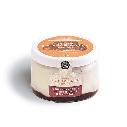 Beaudroit - Yogurt Deslactosado - Frutos Rojos