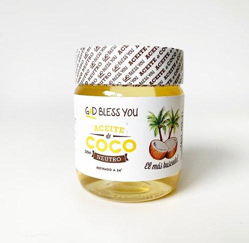 God Bless You - Aceite de Coco - Neutro
