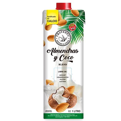 Tratenfu - Leche Vegetal - Almendra y Coco