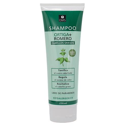 OMS - Shampoo de Ortiga y Romero