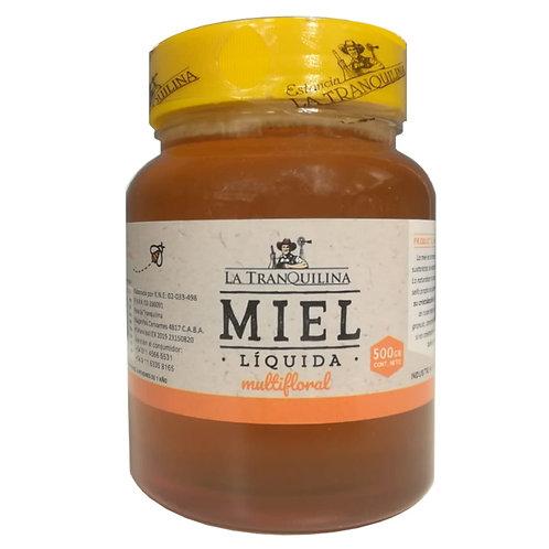 La Tranquilina - Miel Liquida Multifloral - Pote 500g