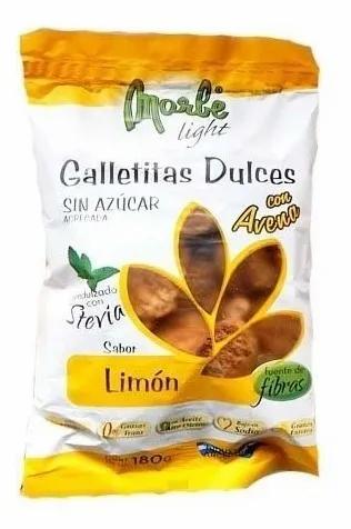 Marbe - Galletitas sabor Limón con Stevia