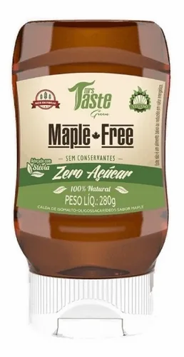 Mrs. Taste - Maple Free - Zero Calorías