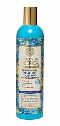Natura Siberica - Shampoo para Cabello Débil y Dañado
