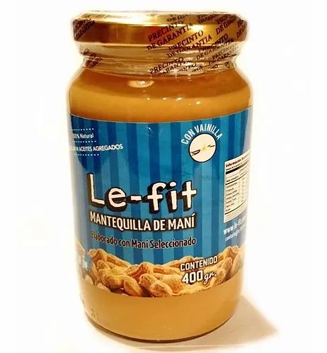 LeFit - Mantequilla de Maní - Vainilla