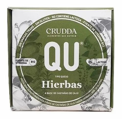 Crudda - Queso Estacionado con Hierbas