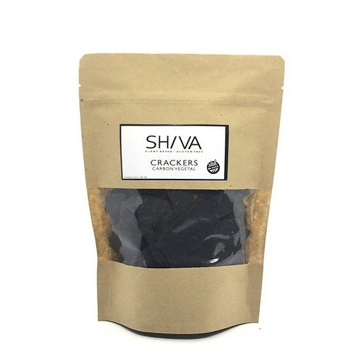 Shiva - Crackers de Carbón Vegetal