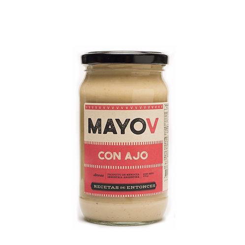 MayoV - Mayonesa Vegana de Ajo