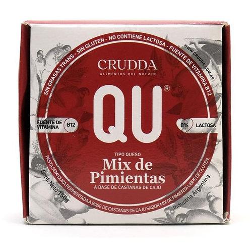 Crudda - Queso Estacionado Mix de Pimienta