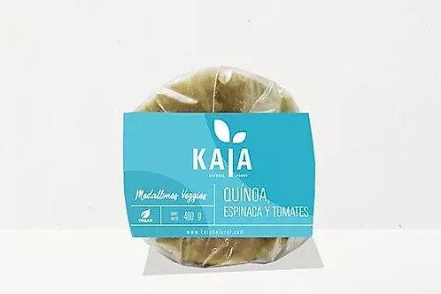Kaia - Medallones Veggies - Quinoa, Espinaca y Tomates