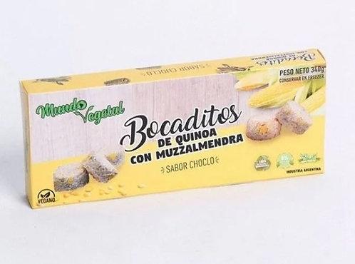 Mundo Vegetal - Bocaditos de Quinoa y Muzzalmendra  sabor Choclo