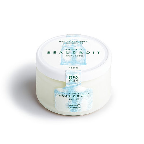 Beaudroit - Yogurt Descremado - Natural