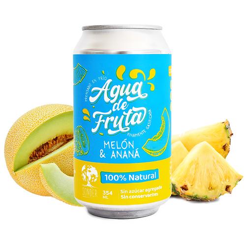 Sonder - Agua De Frutas sabor Melón & Ananá