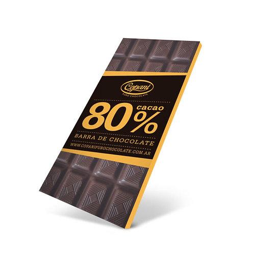 Copani - Barra de Chocolate al 80%