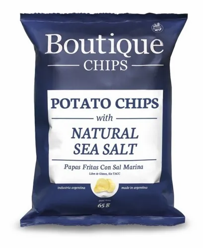 Boutique - Chips de Papas - Sal Marina