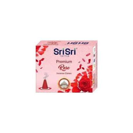 Sri Sri TATTVA - Conos de Incienso Rosa