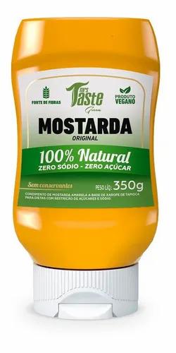 Mrs. Taste - Aderezo de Mostaza - Zero Calorías