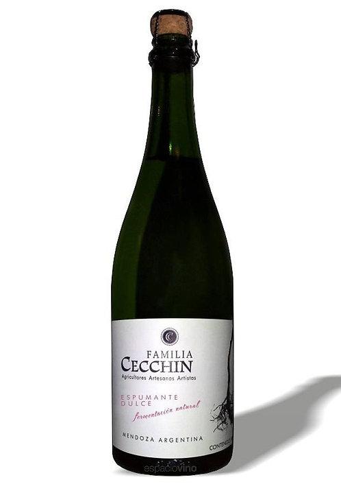 Familia Cecchin - Vino Espumante Orgánico - Moscato