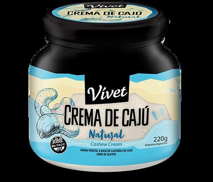 Vivet - Crema de Cajú - Natural