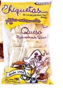 Chiquetas - Galletas Artesanales con Queso