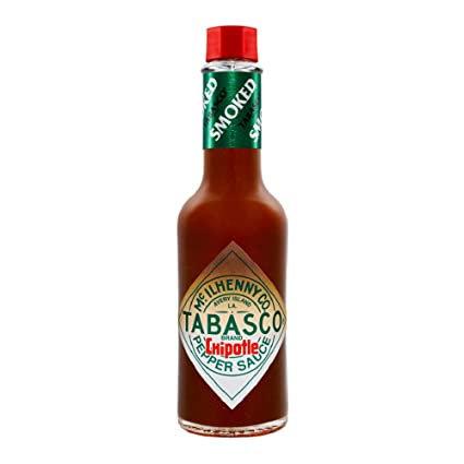 Tabasco - Chipotle o Jalapeño Ahumado Rojo - Picante