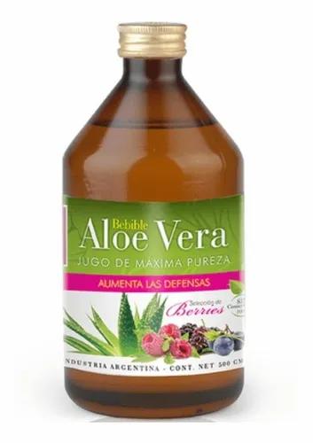Natier - Aloe Vera Maxima Pureza - Sabor Berries - 500Ml