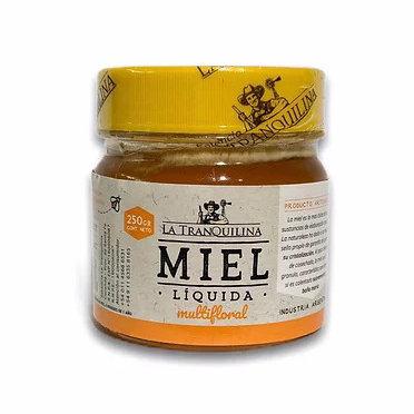 La Tranquilina - Miel Liquida Multifloral - Pote 250g