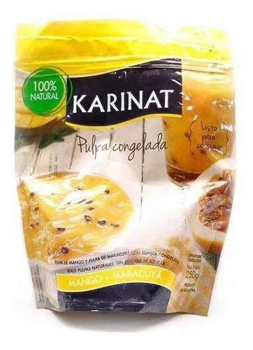 Karinat - Frutas Congeladas - Pulpa de Mango y Maracuyá