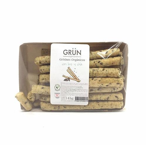 Grun - Grisines Orgánicos con Lino y Chía