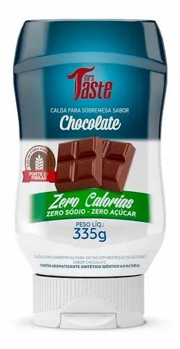 Mrs. Taste - Salsa Sabor Chocolate - Zero Calorías