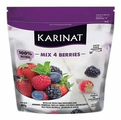 Karinat - Frutas Congeladas - Mix 4 Berries