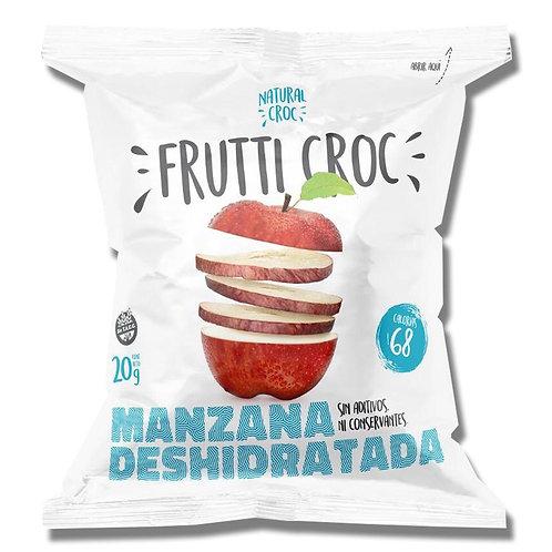 Frutti Croc - Manzana Roja Deshidratada - Rodaja