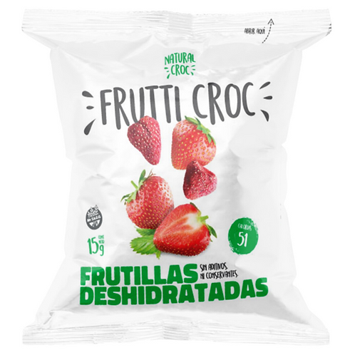 Frutti Croc - Frutillas Enteras Deshidratadas