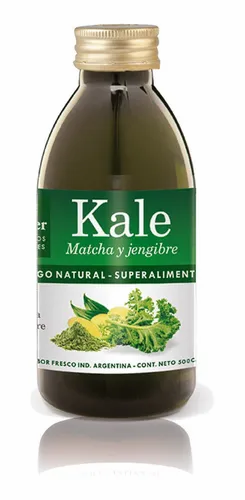 Natier - Jugo de Kale con Matcha y Jengibre  - 500 ML