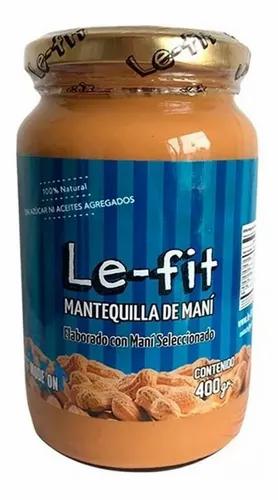LeFit - Mantequilla de Maní - Natural