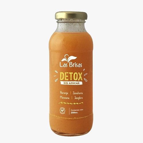 Las Brisas - Jugo Détox Orgánico - Zanahoria y Naranja