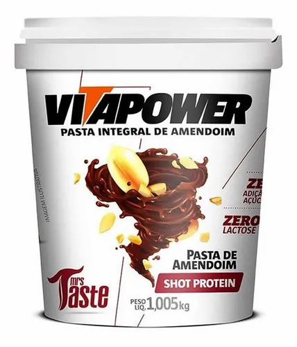 Mrs. Taste - Pasta de Maní - Shot Protein