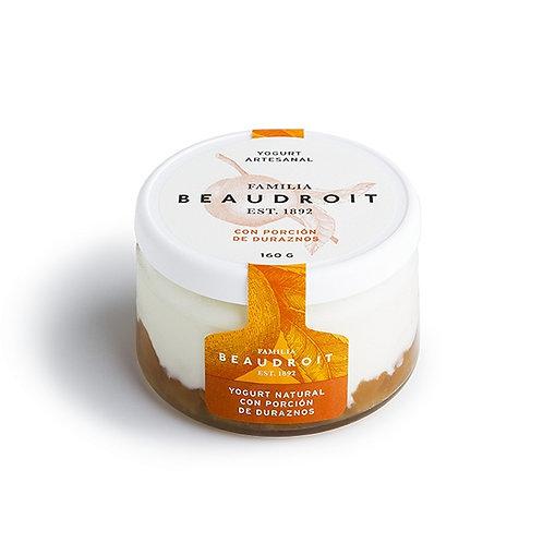 Beaudroit - Yogurt Entero - Durazno