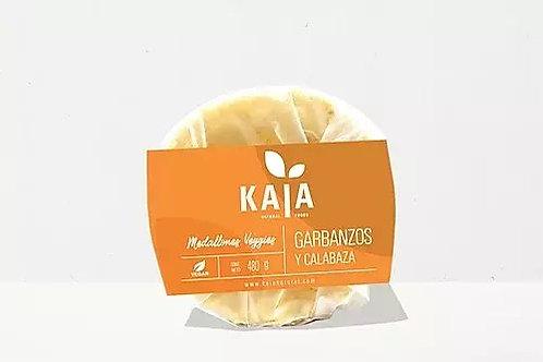 Kaia - Medallones Veggies - Garbanzo y Calabaza