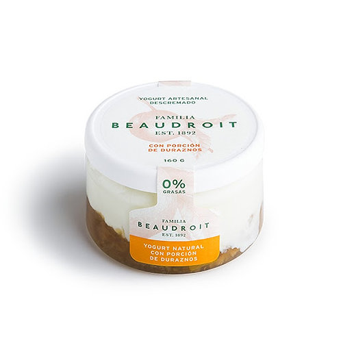 Beaudroit - Yogurt Descremado - Durazno