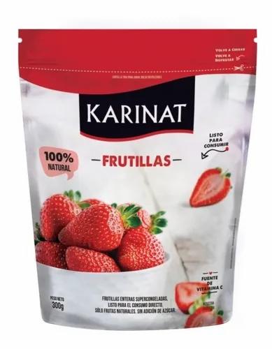 Karinat - Fruta Congelada - Frutillas