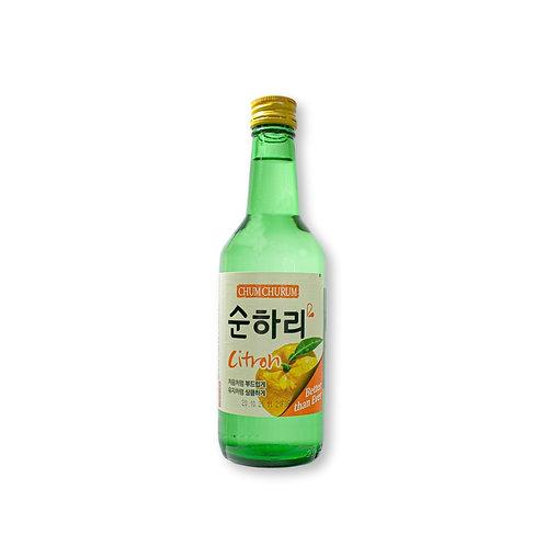 Soju - Sabor Cítrico - Bebida Alcohólica Coreana