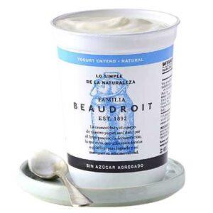 Beaudroit - Yogurt Entero Natural - Sin Azucar