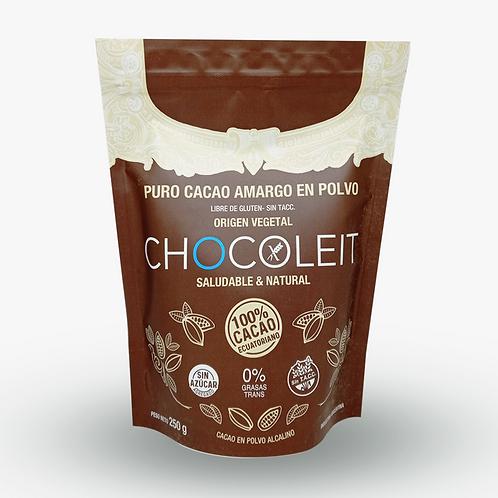 Chocoleit - Cacao Amargo en Polvo