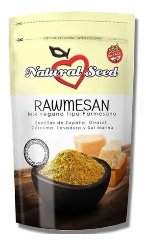 Natural Seed - Rawmesan - Sustituto de Queso Parmesano