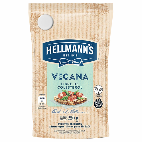Hellmans - Mayonesa Vegana