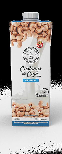 Tratenfu - Leche Vegetal - Castañas de Cajú Original