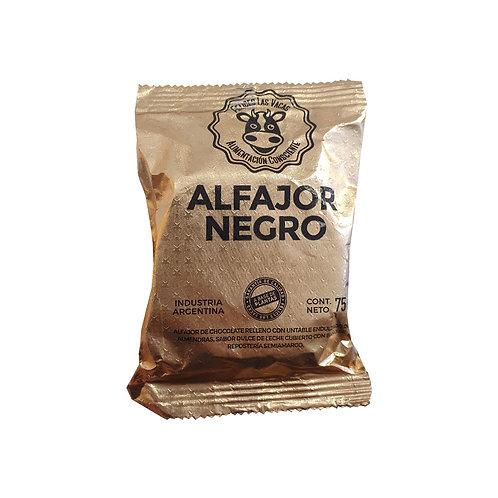 Felices las Vacas - Alfajor con Chocolate Negro