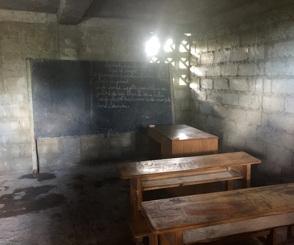 Classroom at Notre Dame